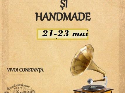 21-23 mai – VIVO! Constanta – Antichitati si handmade